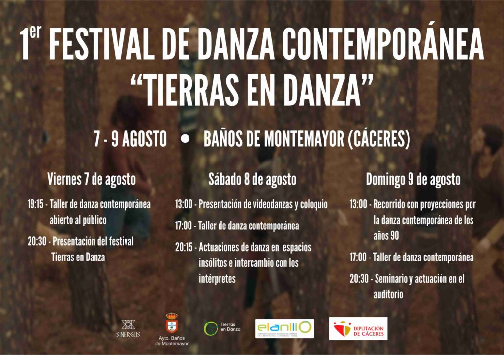 Festival Tierras en Danza 2020 Baños de Montemayor