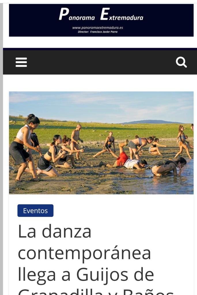 panorama extremadura Festival y encuentro Tierras En Danza